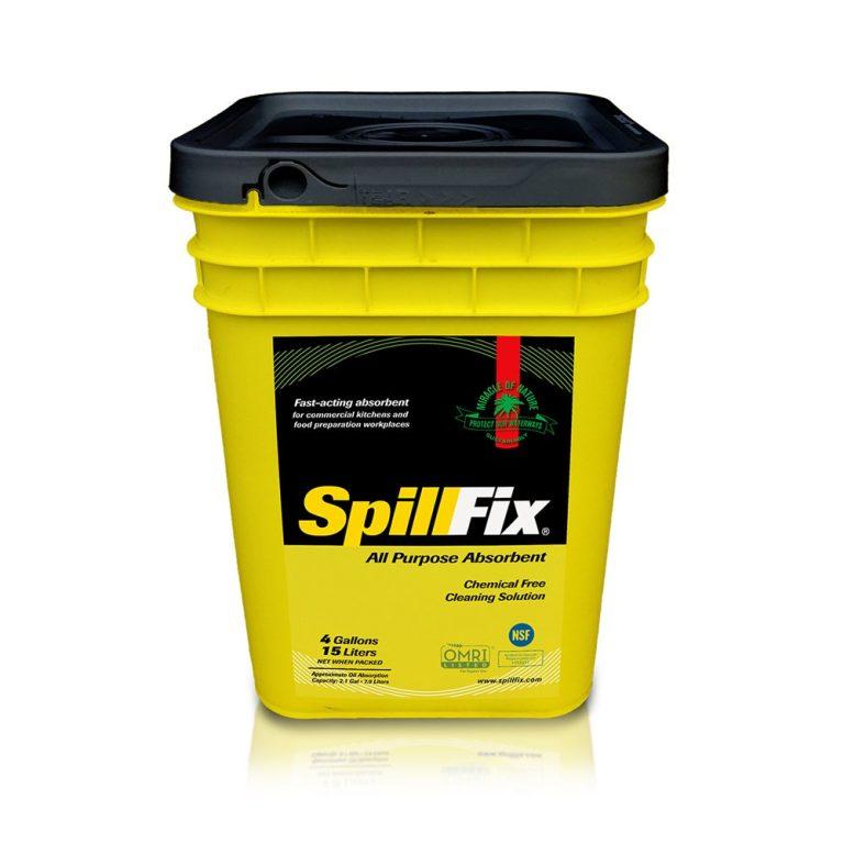SpillFix - 15L/4Gal Granular Absorbent Bucket – Universal