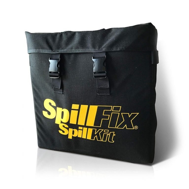 SpillFix Truck Spill Kit in Robust Stowaway Bag, Front Angle
