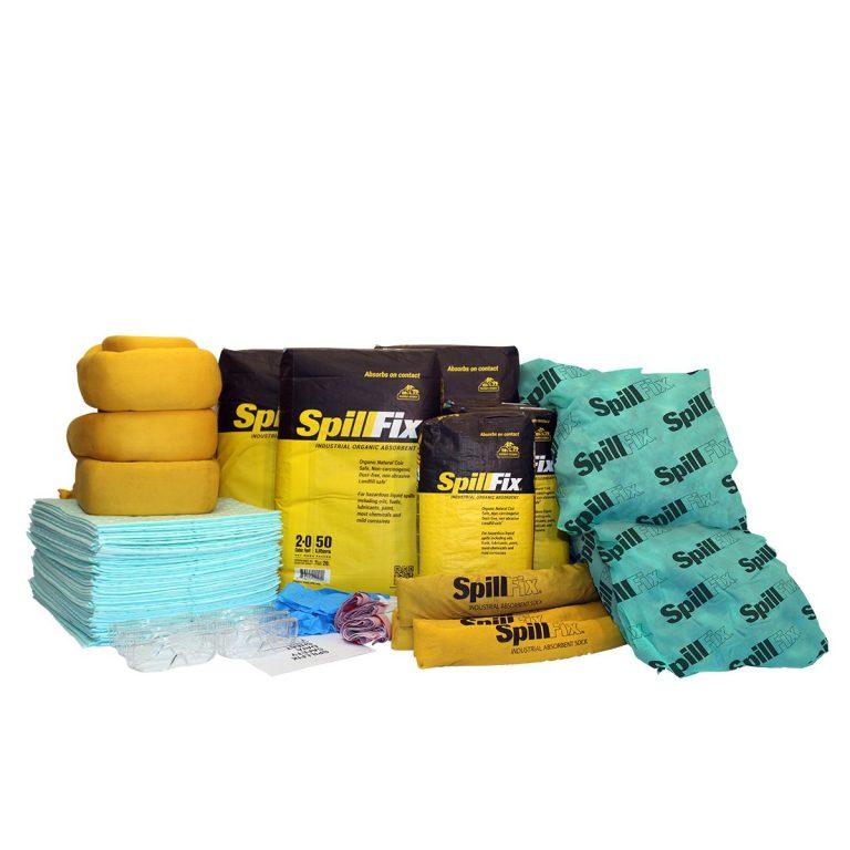 Refill for SpillFix HazMat Spill Kit in 95 Gallon Overpack Salvage Drum