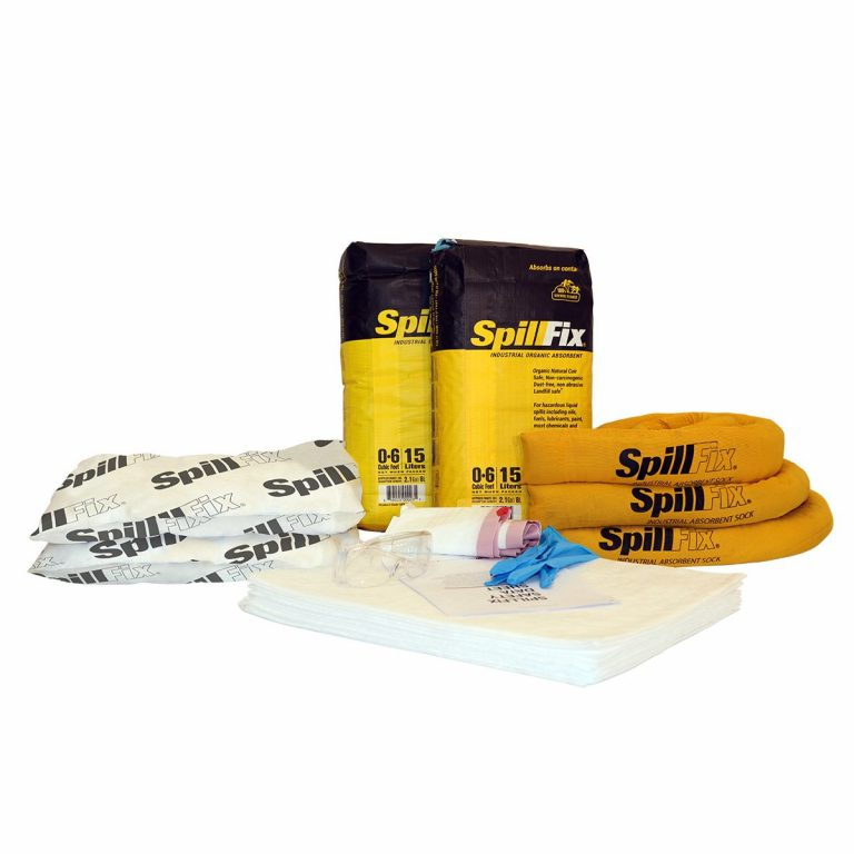 Refill for SpillFix Oil-Only Spill Kit in 20 Gallon Overpack Salvage Drum