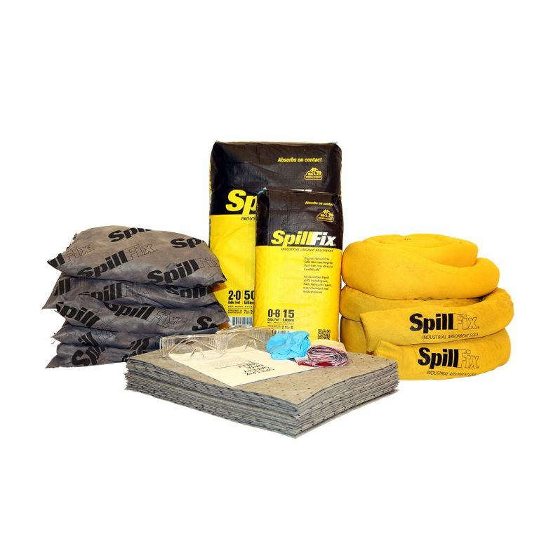 Refill for SpillFix Universal Spill Kit in 30 Gallon Overpack Salvage Drum