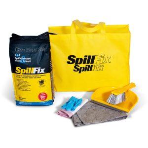 SpillFix Economy Spill Kit in High Visibility Bag