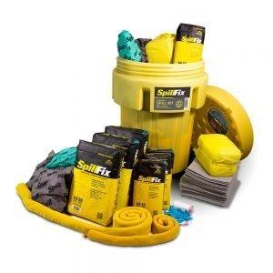 SpillFix HazMat Spill Kit in 95 Gallon Overpack Salvage Drum
