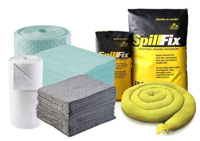 Spill Absorbent Materials