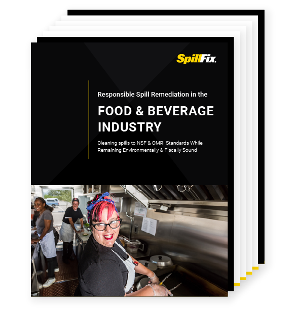 responsible spill remediation in the food and beverage industry white paper