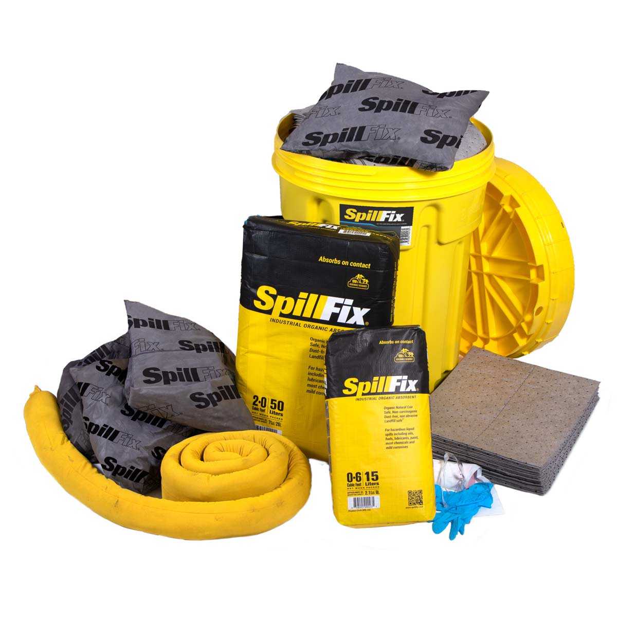 SpillFix Oil-Only Spill Kits