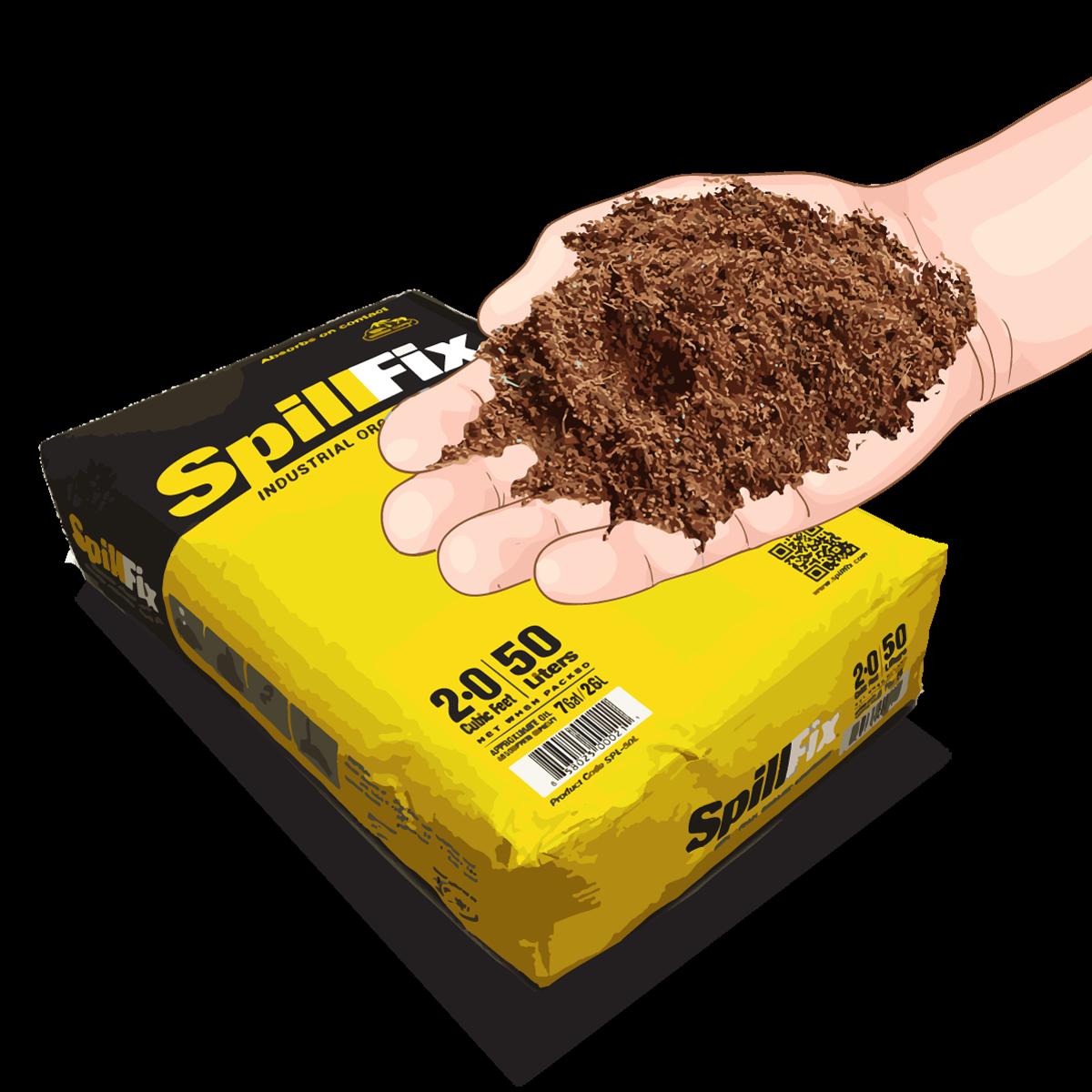 spillfix granular absorbent